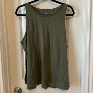 Old Navy Army Green Tank Top